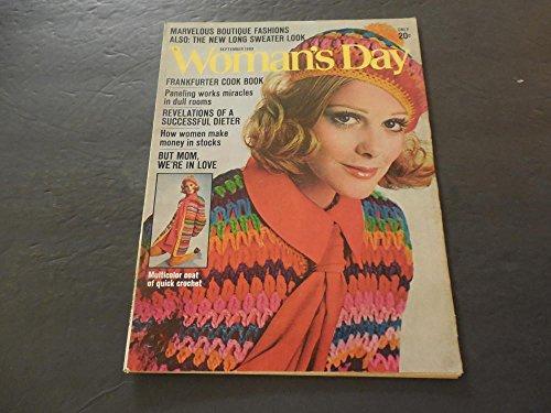Woman's Day Sep 1969 Making Money In Stocks; Successful Dieter (Best Money Making Stocks)
