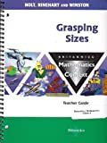 Grasping Sizes Math/Context, Holt, Rinehart and Winston Staff, 0030712793