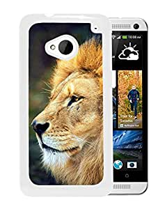 Mighty Lion In The Wild (2) Durable High Quality HTC ONE M7 Phone Case