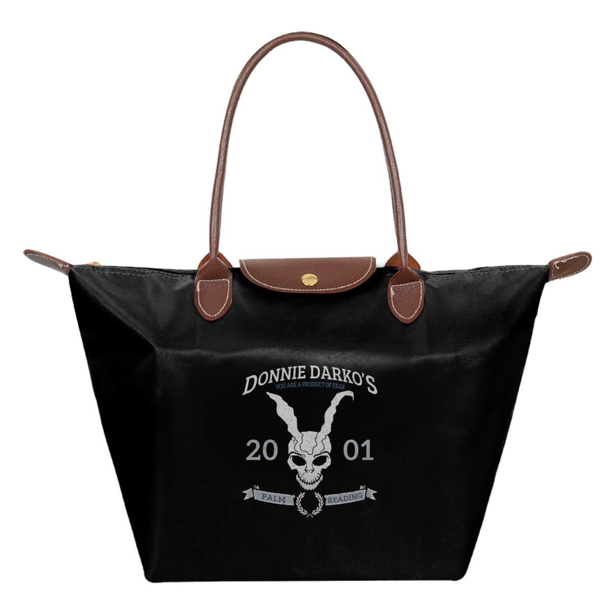 Donnie Darkos Palm Reading Waterproof Leather Folded Messenger Nylon Bag Travel Tote Hopping Folding School Handbags