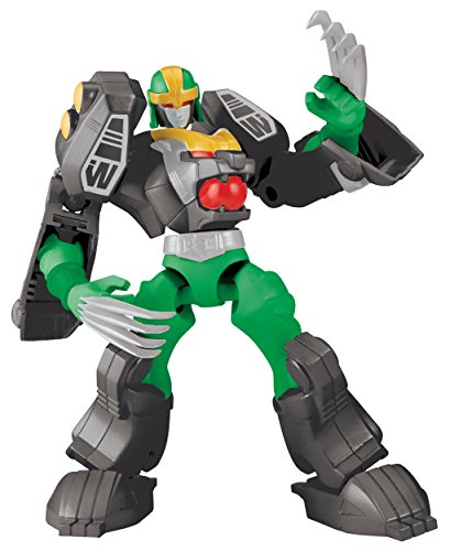 Power Rangers Dino Charge - Mixx N Morph Mighty Morphin Green Tiger Rangerzord Action Figure (Mighty Morphin Power Rangers Zords)