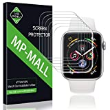 MP-MALL Compatible for [6-Pack] Screen Protector Apple Watch 40mm / 38mm (Series 4/3/2/1 Compatible), Anti-Bubble Liquid Skin Screen Protector Flexible Film, Lifetime Replacement Warran