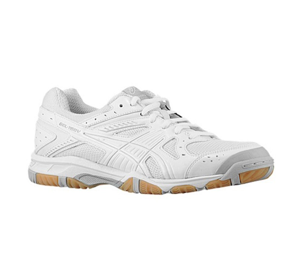 ASICS Women's Gel-1150V White/Silver/Snow Athletic Shoe