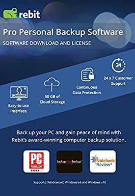 Rebit Pro Personal PC Backup Software by BETSOL