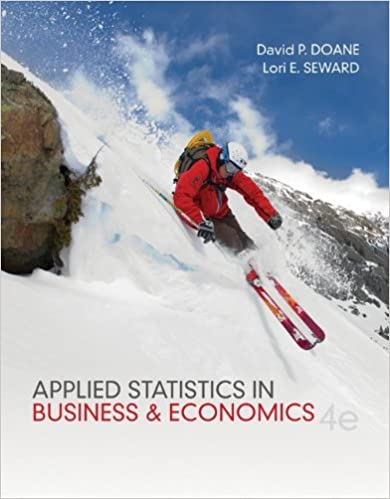 Applied Statistics for Economics and Business