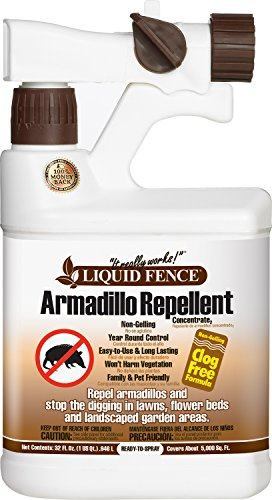 Liquid Fence HG-70285 Ready-to-Use Armadillo Repellent Concentrate, 32-Ounce
