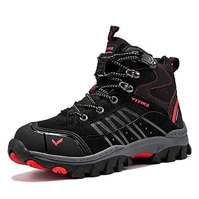 Amazon.com | Kids Hiking Boots Boys Girls Shoes Winter