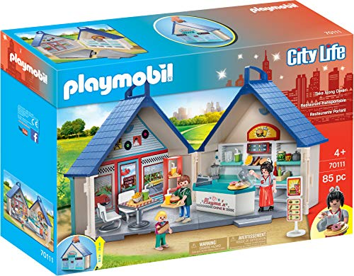 PLAYMOBIL Take Along Diner (Playmobil Swimming Pool Best Price)