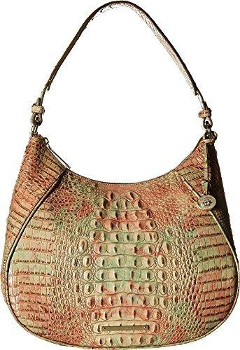 Brahmin Women's Amira Leather Shoulder Bag Sahara