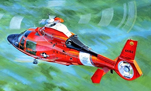 Trumpeter US Coast Guard HH-65C Dolphin Helicopter Model Kit