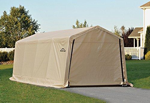Shelterlogic 62680 instant garage autoshelter 10 x 20 for Garden shed uae
