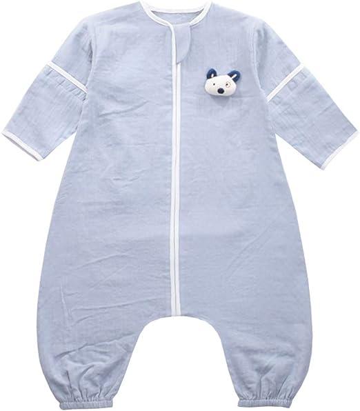 SXSHUN Bebés Pijama Entero de Algodón Saco de Dormir con Botones ...