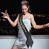 Birthday Queen Sash & Rhinestone Tiara Kit, happy