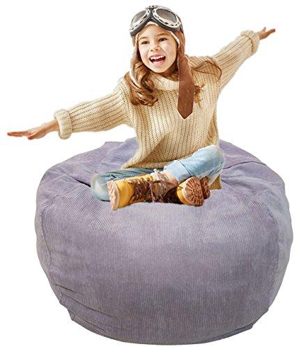 Stuffed Animal Bean Bag | Stuffed Animal Storage | Plush Toy Organizer | Perfect Storage Solutions | Creative Solution for Kids