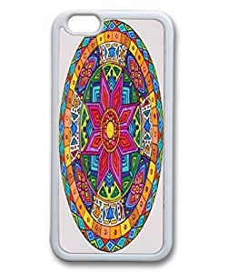 iPhone 5c Protective Case -Fashion Colorful Mandala Pattern Hardshell Cell Phone Cover Case for New iPhone 5c