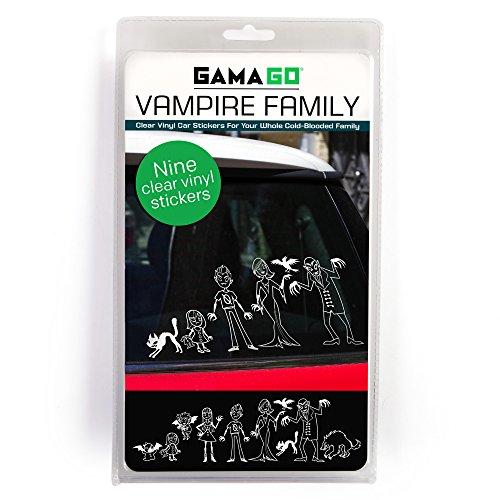 GAMAGO Vampire Family Car Decals]()