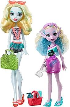 Monster High Monster Family Lagoona Blue & Kelpie Blue Dolls, 2 Pack 1