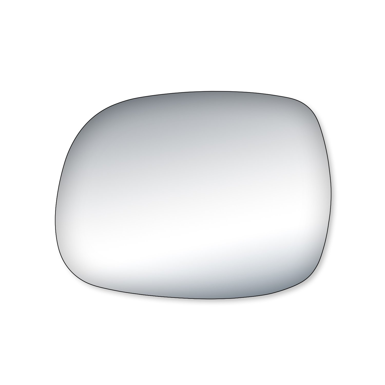 Fit System 99166 Toyota Sequoia Driver/Passenger Side Replacement Mirror Glass