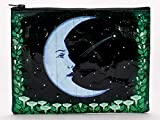 Blue Q Zipper Pouch, Moon Garden. Great for