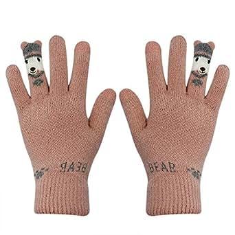 Amazon.com: Women's Touch Screen Winter Gloves Soft Warm