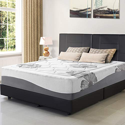 Olee Sleep 12 Inch I Gel Top Tencel Memory Foam Mattress 12FM01F