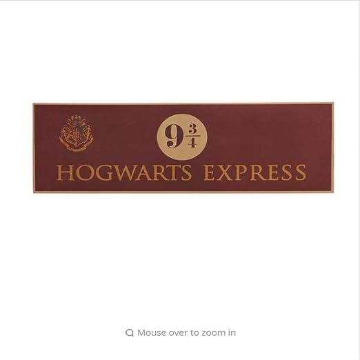 hzcl 9 3/4 (Nueve Y Tres Cuartas Partes) Plataforma Harry ...