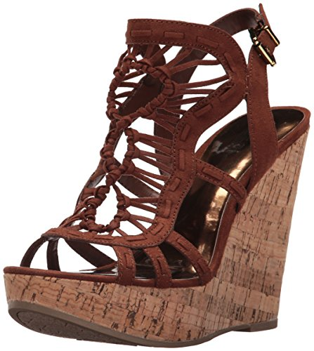 Carlos by Carlos Santana Women's Banjo Wedge Sandal