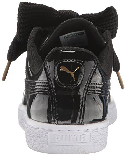 Puma Women's Basket Heart Patent Wn Sneaker Puma Black-puma Black LpYQNn