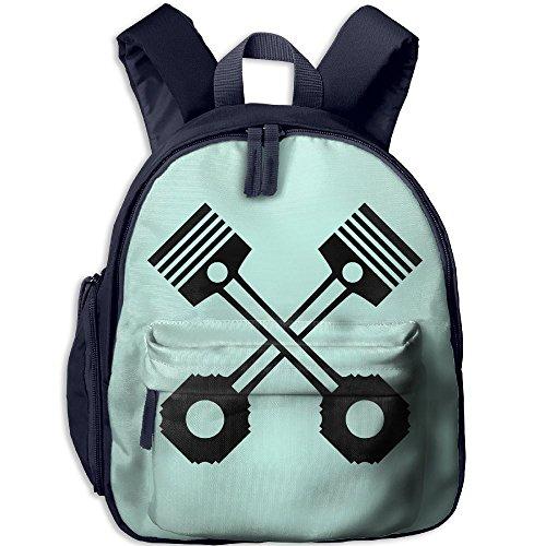 Student School Bags Backpack Daypack Zylinder Kolben F1 Super Bookbag Break For Kids - Flags F1 Racing