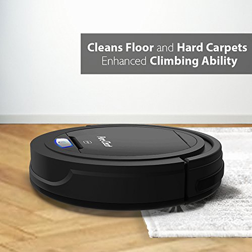 PureClean Robot Cleaner - Robotic Home Cleaning for Carpet Bot Self - HEPA Filter Hair PUCRC26B