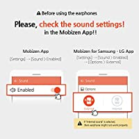 Mobizen World's First Voice and Internal Sound Recording Earphones  Headphones with Microphone and Volume Control for Android Cell Phones and  Tablets