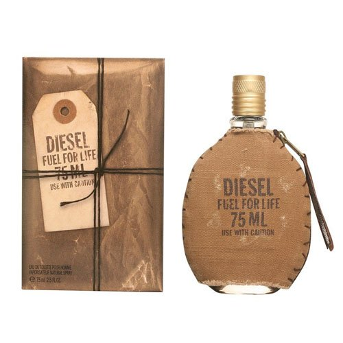 Diesel Fuel For Life by Diesel For Men. Eau De Toilette Spray 1.7-Ounces (Life Like Diesel)