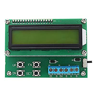 Nrthtri smt 4-20mA 10V Voltage Current Signal Generator 20mA Signal Transmitter with LCD 1602 Display so on