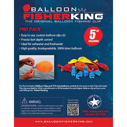 Balloon Fisher King 400 balloons
