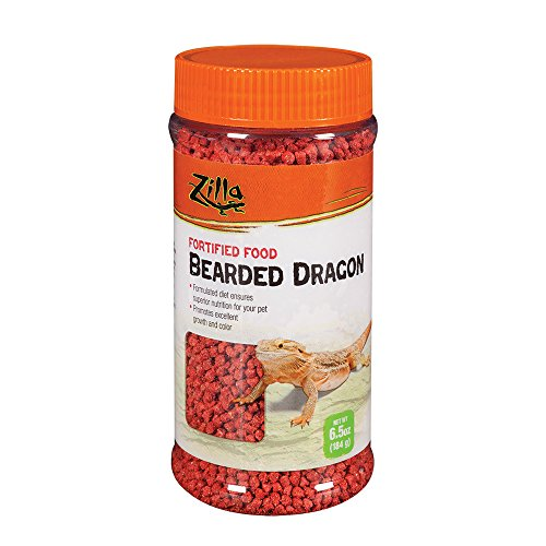 - Zilla Reptile Food Bearded Dragon Fortified, 6.5-Ounce