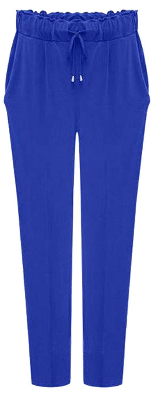 NQ Women's Fashion Casual Simple Haren Pants