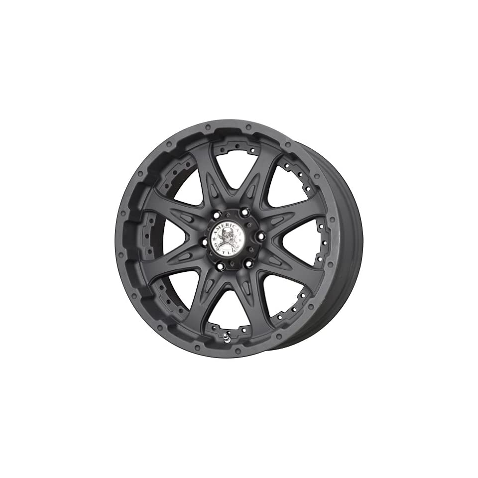 American Outlaw Buckshot Matte Black Wheel with Painted Finish (17x9/6x139.7mm)