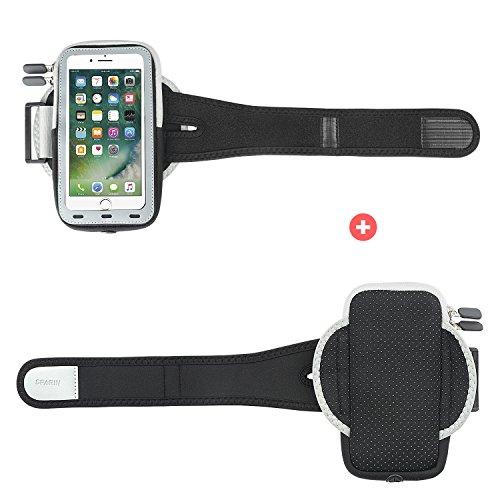 [해외]iPhone 7 Plus 암밴드, SPARIN iPhone 7 Plus 6S Plus 6 플러스 용 다기능 암밴드 [홈 버튼 용 컷 아웃] [5.5 인치]/iPhone 7 Plus Armband,SPARIN Multi