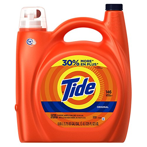 Tide High Efficiency Laundry Detergent, Original, 225 Fluid Ounce (Tide Laundry Detergent Baby)