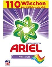 Ariel Środek piorący do tkanin kolorowych w proszku, ochrona kolorów, 7,15 kg – 1 opakowanie (1 x 110 prań)