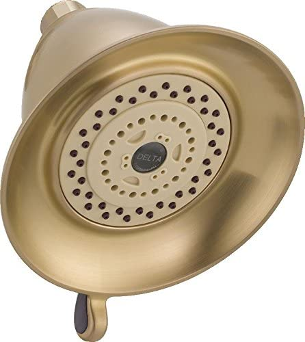 Delta RP34355CZ Touch-Clean 3-Setting Showerhead, Champagne Bronze