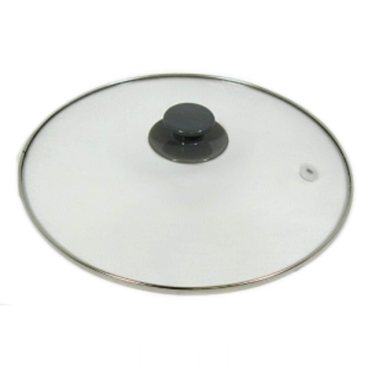 YourStoreFront Crock Pot & Slow Cooker 5, 6 Qt Replacement Round Glass Lid for Rival SCRC507-W by YourStoreFront