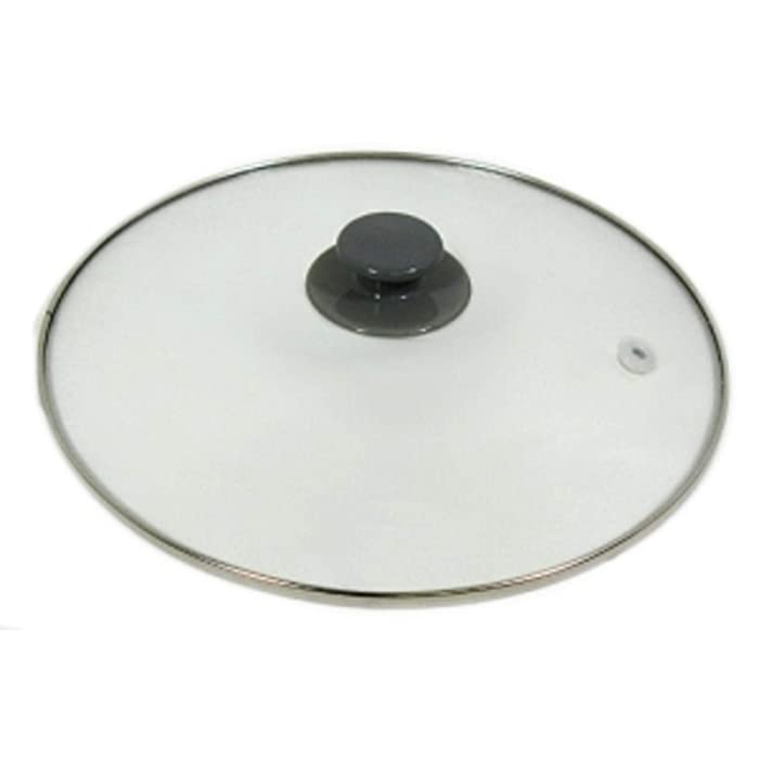 YourStoreFront Crock Pot & Slow Cooker 5, 6 Qt Replacement Round Glass Lid for Rival SCRC507-W
