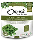 Organic Traditions Moringa Leaf Powder 200g Raw, Vegan, Kosher