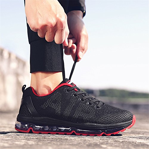 TORISKY Lightweight Running Men's Women's Walking Cushion Sport Red Air Shoes Sneakers Outdoor qwZHCnqU