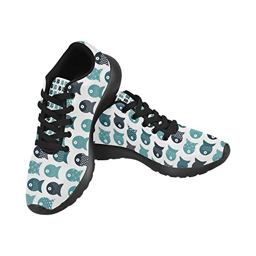 Cross 3 Walking Athletic Sneakers Lightweight Shoes Trainer Running Jogging Multi Country Sports Womens InterestPrint Trail B6wT5Bq