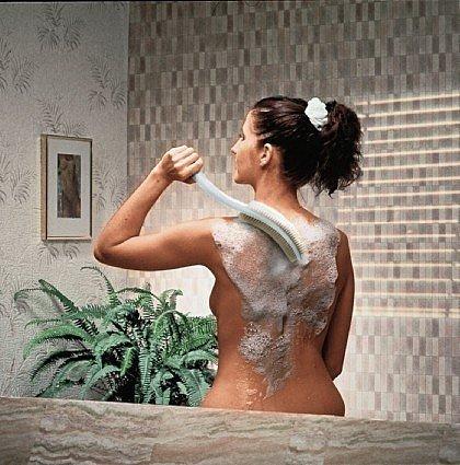 Medosan Massagebürste mit Naturhaarborsten