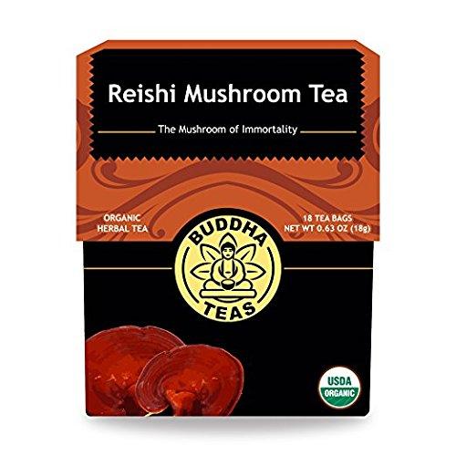 Organic Reishi Mushroom Tea Caffeine Free