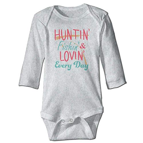 Hunting And Fishing Infant Long Sleeve Bodysuits Newborn Clothes