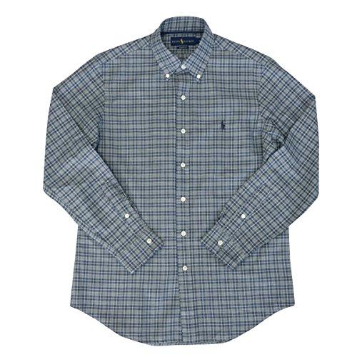 国民バンク足(ポロ ラルフローレン) POLO Ralph Lauren シャツ チェックシャツ メンズ 長袖 ボタンダウン ワイシャツ [並行輸入品]